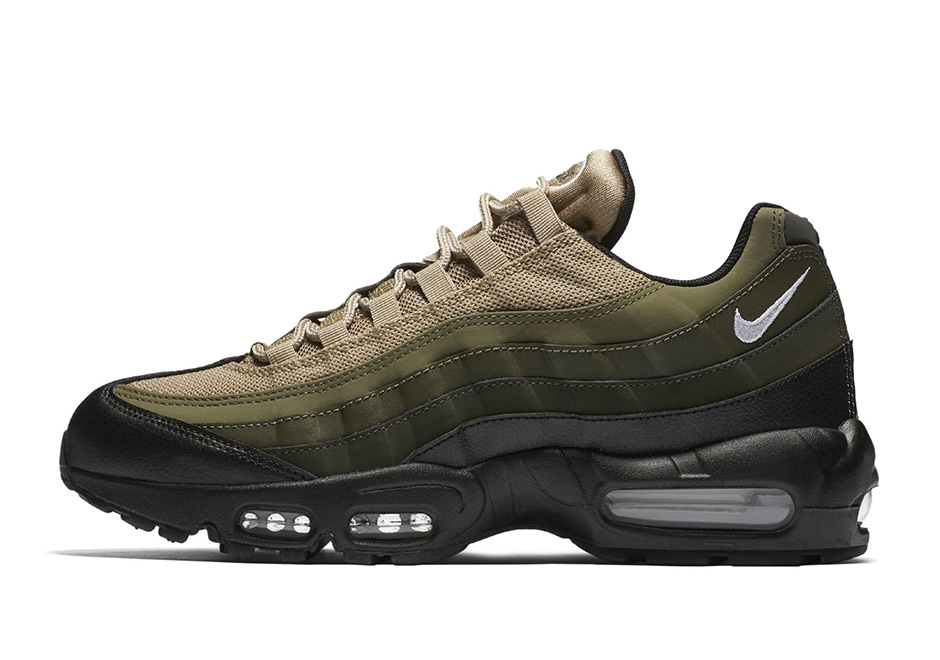 factory price 98ccd 02cea 2018 Nike Air Max 95 Tonal Olive Running Shoe For Sale