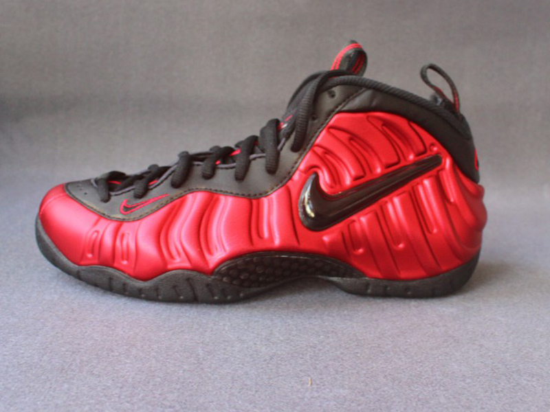 new styles 1d108 a1238 2018 Nike Air Foamposite Pro University Red Black Basketball Shoe For Sale