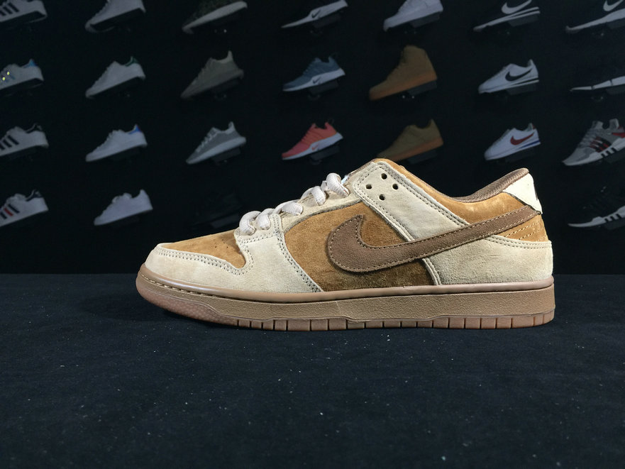 Dunk 883232 700 Nike SB Dunk Low TRD QS Brown Shoe For Sale