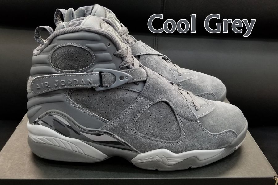 finest selection a5a4c df901 2018 Air Jordan 8 Cool Grey Wolf Grey Basketball Shoe For Sale