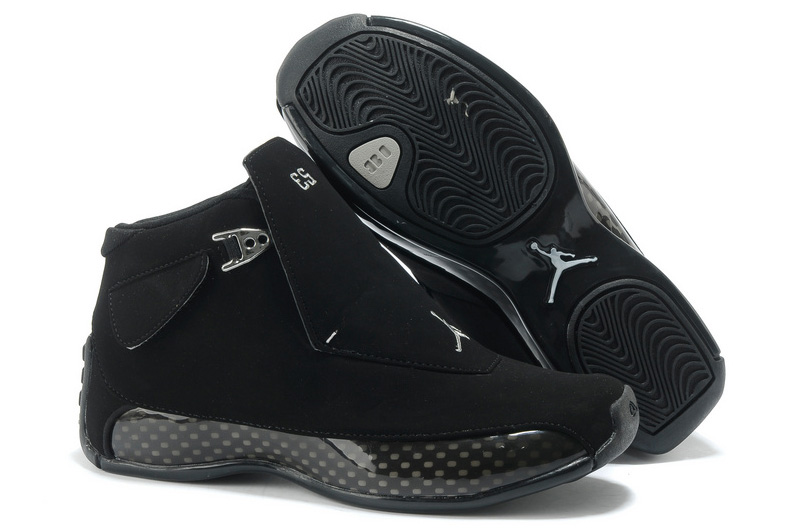 Air Jordan 18 (XVIII) All Black For Sale Online