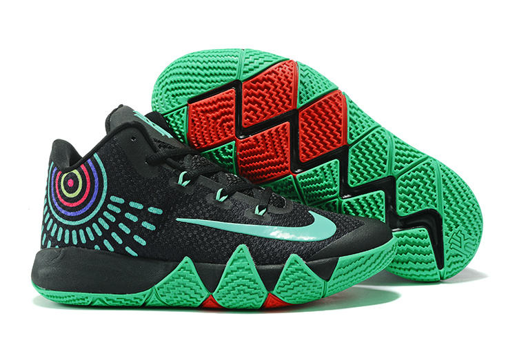 sale retailer 9dd6b 4ede7 Fashion Sneakers Nike Zoom Kyrie 4 Black Green Kyrie Irving 4 For Sale NBA Basketball  Shoe ...