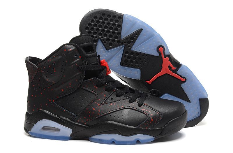sports shoes 34e3e 005af Air Jordan 6 Retro All Black With Speckle For Sale Cheap Price