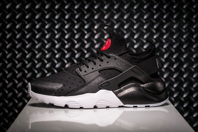 Nike Air Huarache Run Ultra Black White 882144 001 Huarache Shoe For Sale