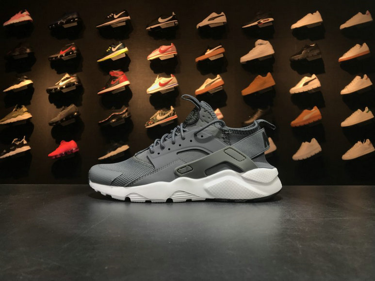 Nike Air Huarache Run Ultra 752703 993 Grey White Huarache For Sale