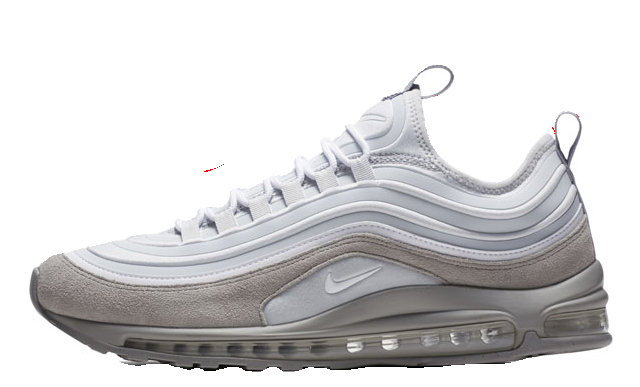Nike Air Max 97 Ultra 17 SE Wolf Grey 924452-002 MAX97 Running Shoe For Sale
