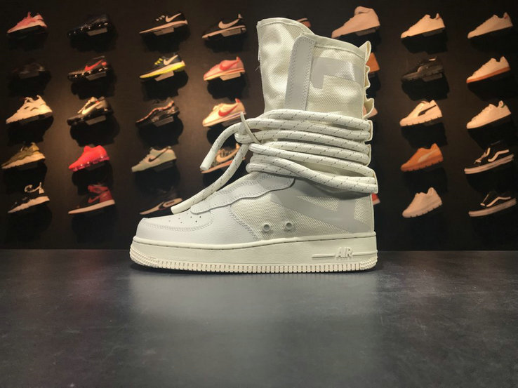 Nike SF AF1 High AA1128 201 Beige Fabrique Au Vietnam Hecho Shoe For Sale