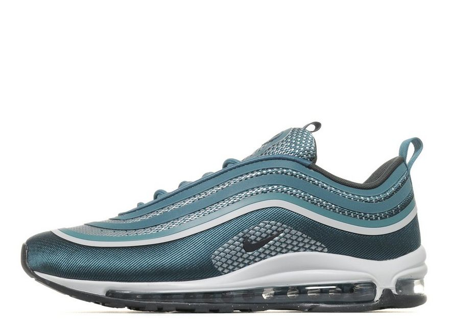 2018 Nike Air Max 97 Ultra Textile Synthetic Upper Synthetic Sole Green Air Max Running Shoe For Sale