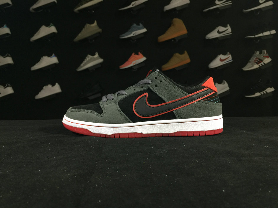 Dunk 895969 006 Nike SB Dunk Low IW Black Grey Shoe For Sale