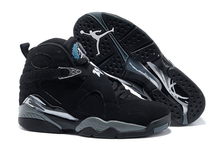 new product 22eb7 c221a Air Jordans 8 Retro Black Chrome Mens Cheap For Sale Online