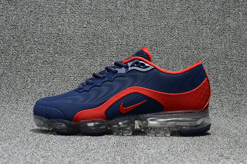 Nike Air Max 20185 VaporMax Deep Blue Red Running Shoe For Sale