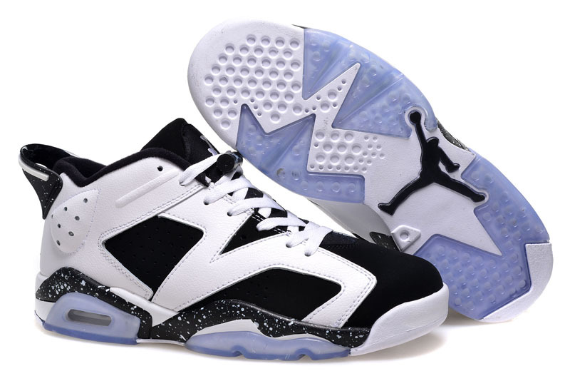 separation shoes d8624 8ed60 Air Jordan 6 Retro Low Oreo White Black Cheap Sale Online