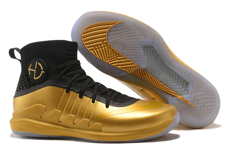 newest 63e9a 98cca ... coupon for draymond green nike hyperdunk 2017 gold black basketball shoe  for sale 5875d a8edf