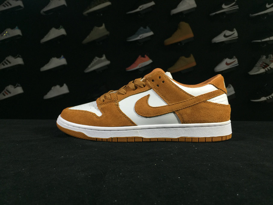 Dunk 854866 881 Nike SB Zoom Dunk Low PRO White Orange Shoe For Sale