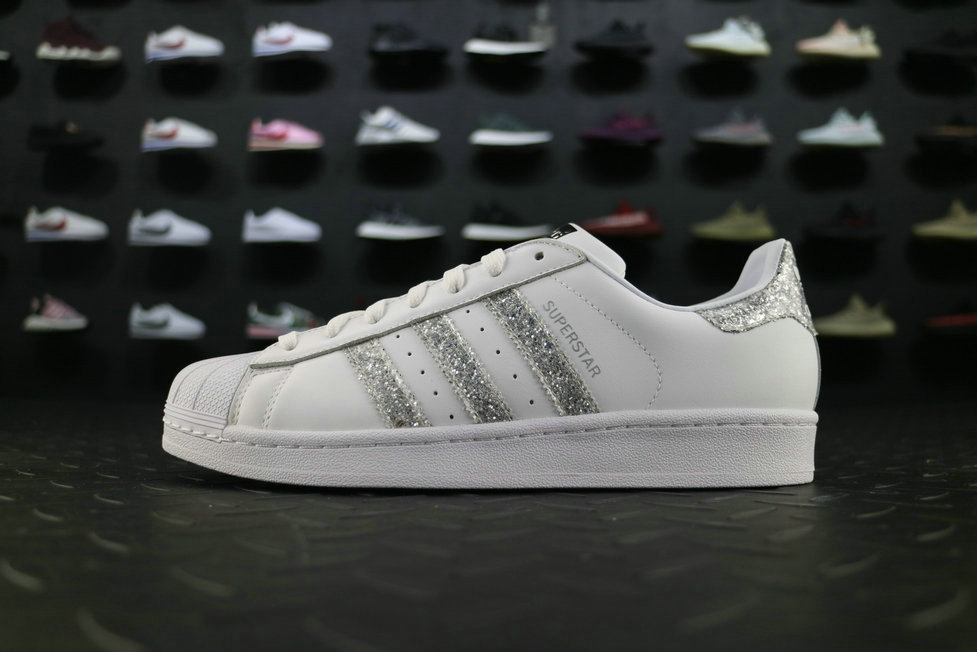 adidas Super Esat Live S76923 White Silver adidas Shoe For Sale