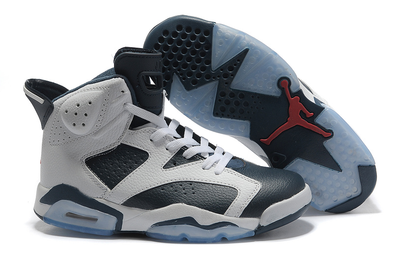 dark blue white mens basketball sneaker nba jordan retro 6 shoe 2015 online