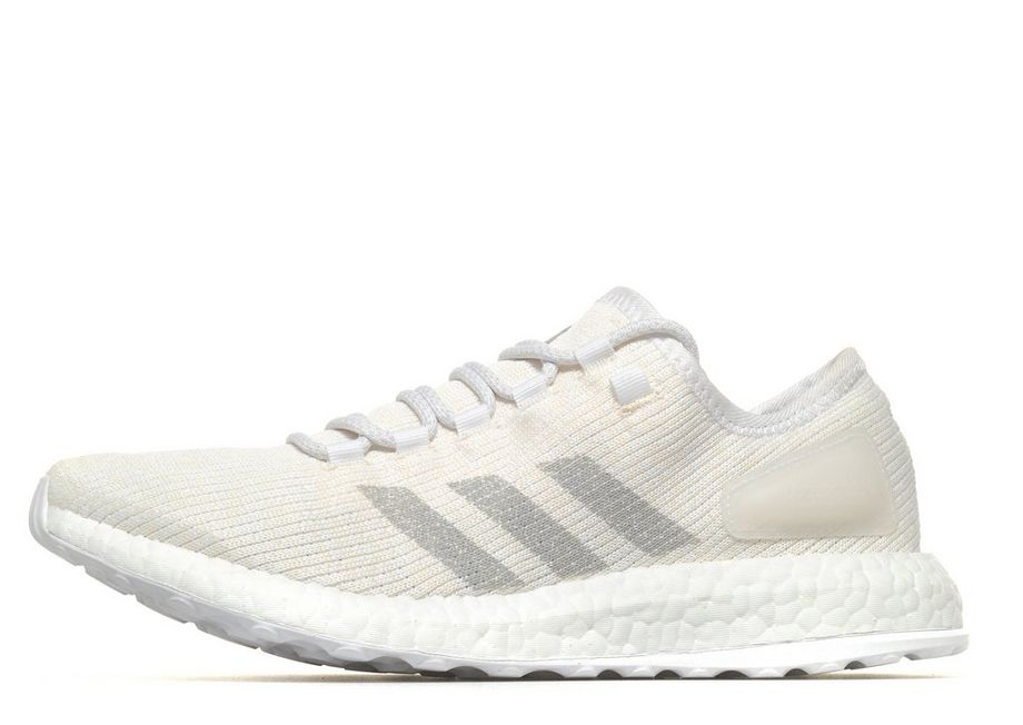 2a5411a3b 2018 adidas Pure Boost DPR Textile Upper Synthetic Sole White adidas Boost  For Sale