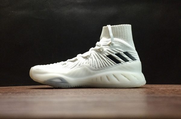 Official adidas Crazy Explosive 2017 Primeknit Footwear White Footwear White-Core Black Online