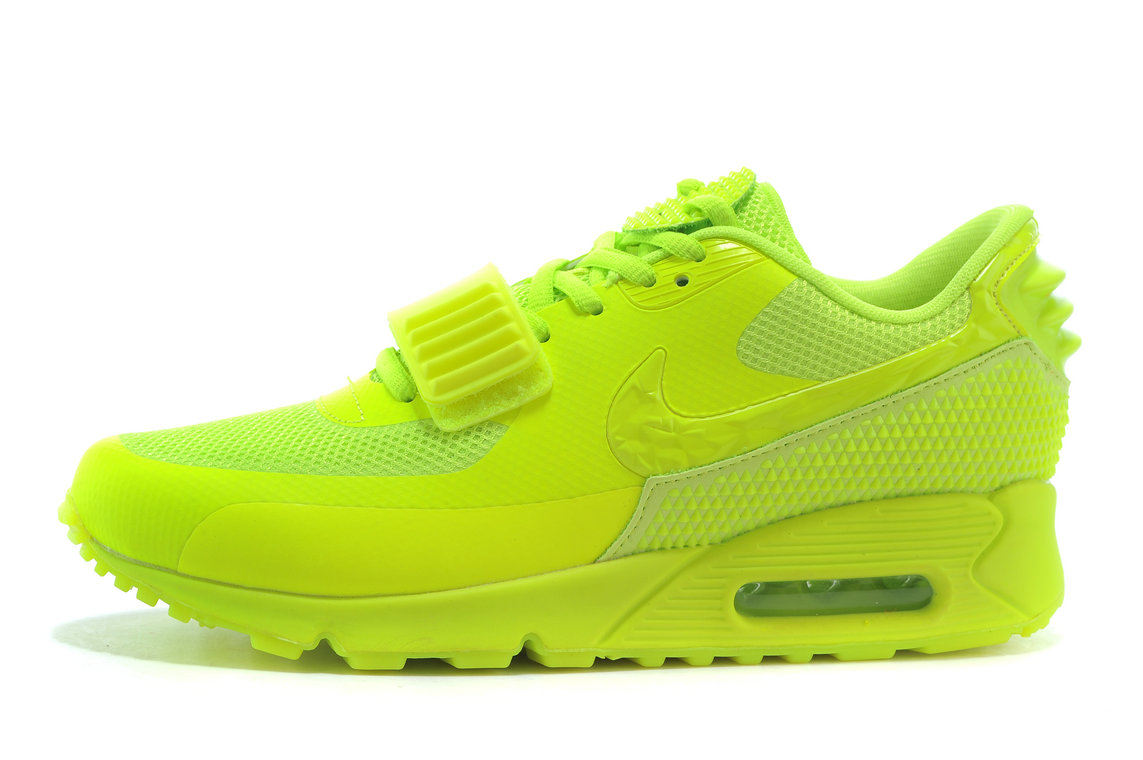 233d037a7f83 Nike Air Max 90 Air Yeezy 2 SP 508214 603 Fluorescent Green Running Shoe  For Sale