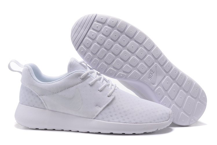 Official Nike Roshe Run One BR Unisex White All Running Shoe