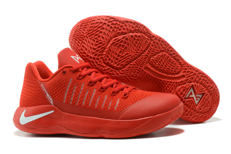 new styles 40097 e09bd Nike PG 2 Flyknit Red Basketball Shoes For Sale