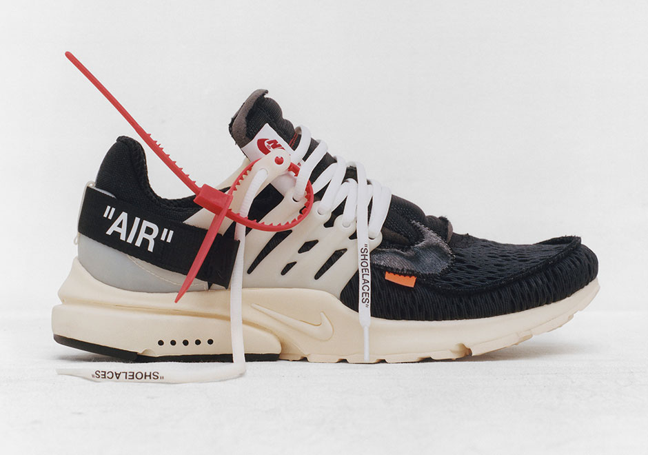 best website e184d f7cb3 Fashion Sneakers OFF-White x Nike Air Presto Running Shoe For Sale