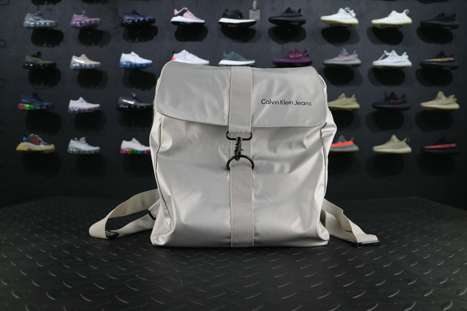 Calvin Klein BackPack Cool White Grey For Sale