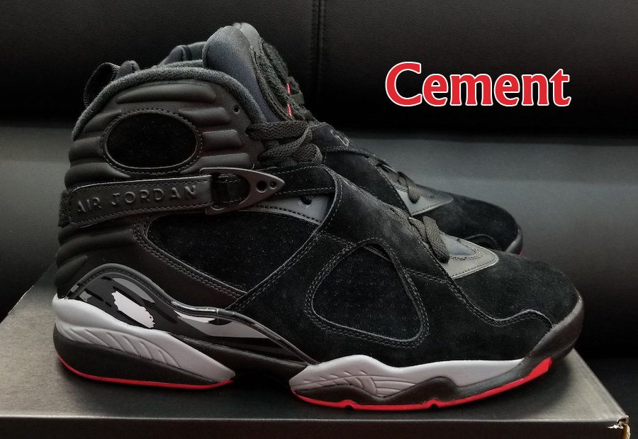 separation shoes 8dd49 a99d5 2018 Air Jordan 8 Bred Cement Black Gym Red Black Wolf Grey Basketball Shoe  For Sale