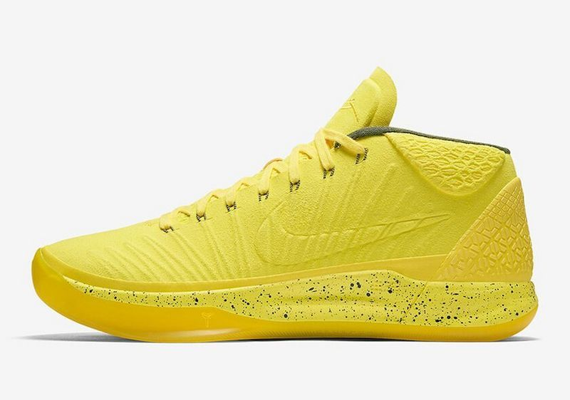 2018 NIKE KOBE AD MID OPTIMISM YELLOW BASKETBALL SHOE FOR SALE