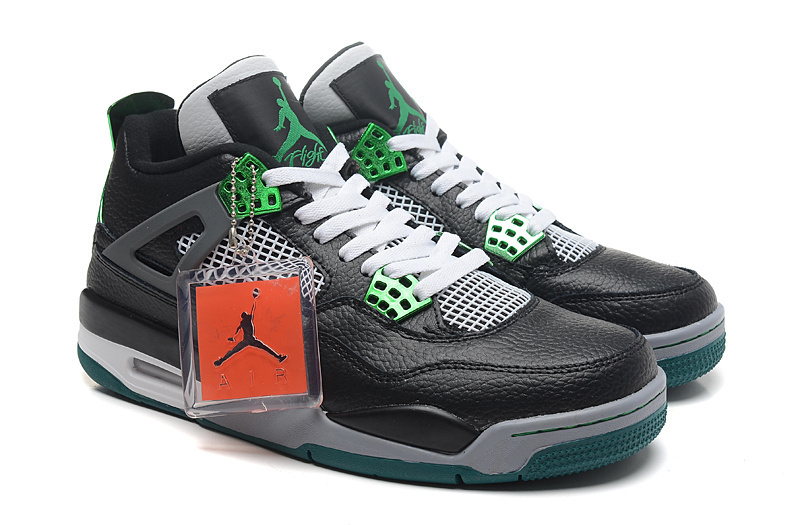 super popular c731d 9d577 Jordan 4 Oregon Ducks Black White Green