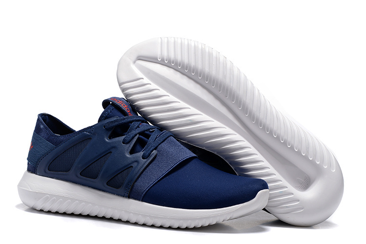 adidas Tubular Viral Dark Blue Running Sneakers adidas Boost For Sale